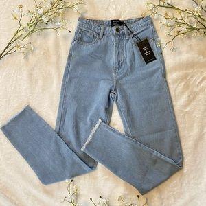 Princess Polly x Olivia Jade Light Wash Jeans